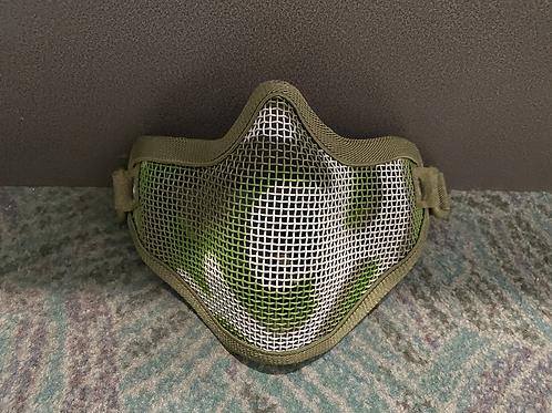 Half Face Mask - Camo Green