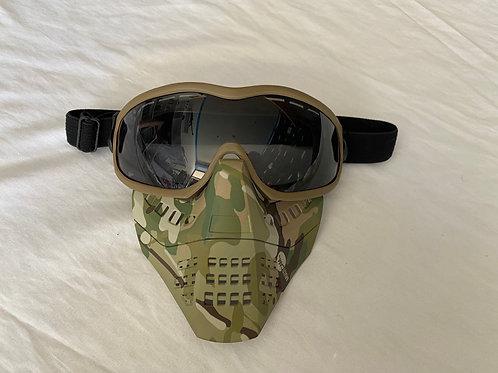 Full face mask (Multicam)