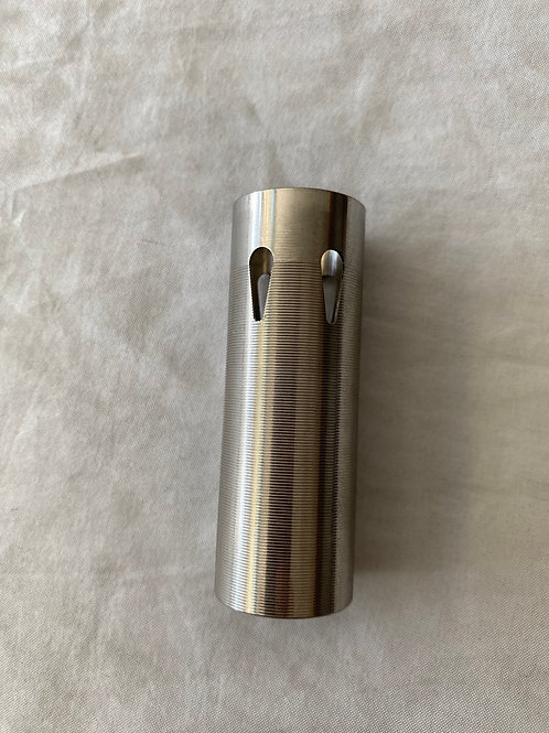 75% Stainless Ribbed Cylinder