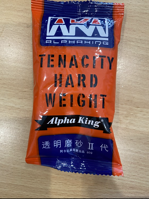 Alpha King TENACITY HARD WEIGHT Gels