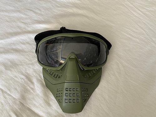 Full face mask (Green) (OD)