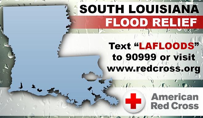 SOUTH LOUISIANA FLOOD RELIEF