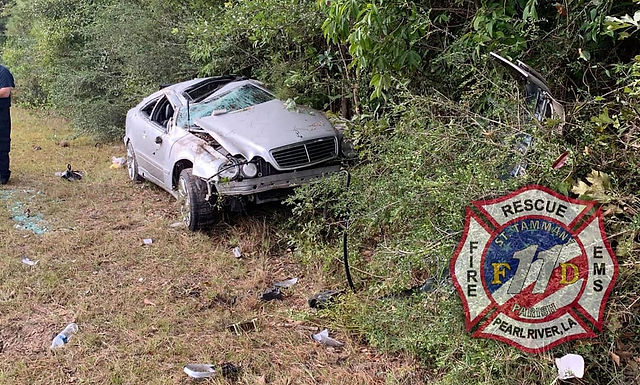 I-59 VEHICLE ROLLOVER