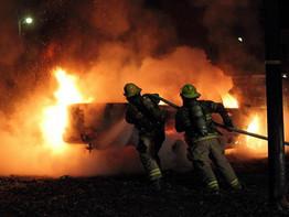 VEHICLE FIRE - HONEY ISLAND SWAMP RD.