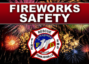 CONSUMER USE OF FIREWORKS DISCOURAGED