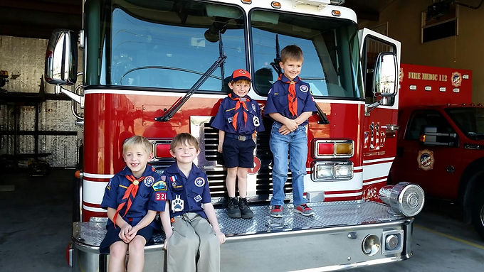CUB SCOUT STATION TOUR