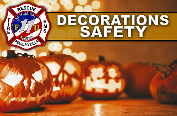 DECORATIONS SAFETY