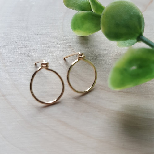 Sphere Post Earrings