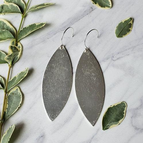 Brushed Metal Leaves