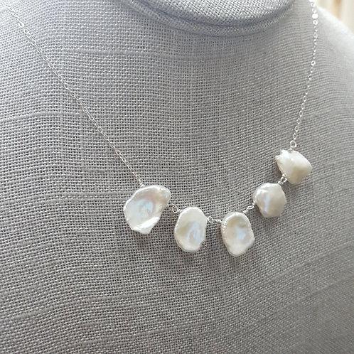 Keishi Pearl Collar