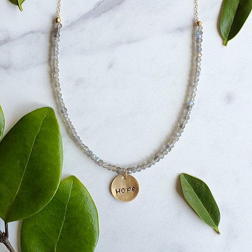 Hope Gemstone Necklace