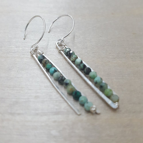 Linear Swing, African Turquoise
