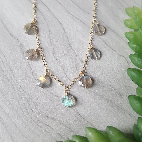 Labradorite Glimmer Necklace
