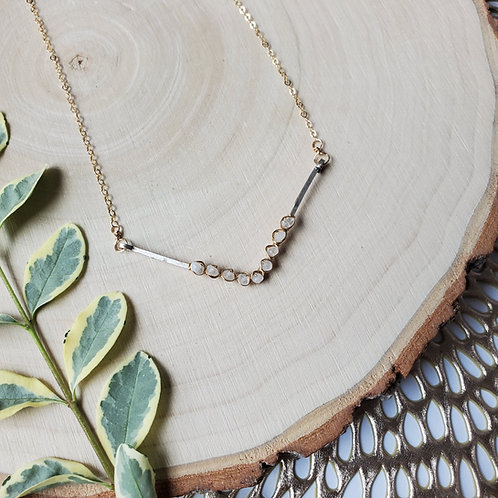 Moonstone V Necklace