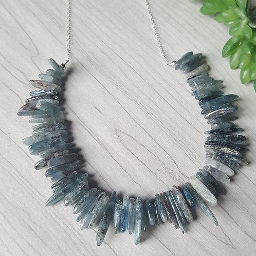 Kyanite Stick Necklace