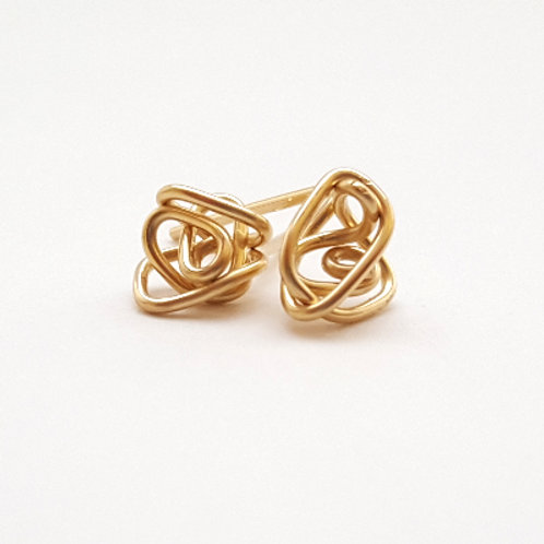 Agape Knot Earrings