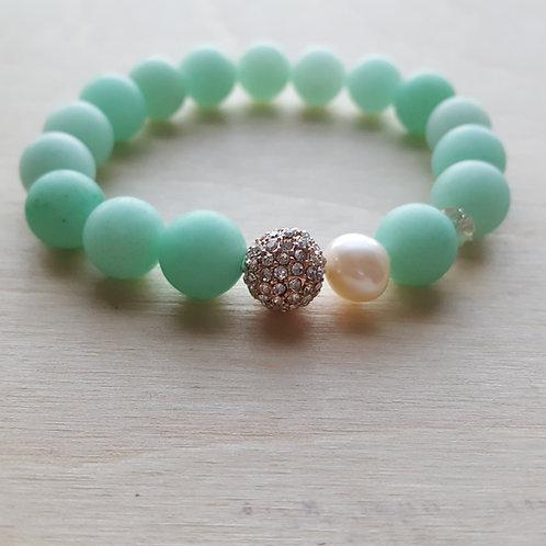 Stacking Blue Amazonite Bracelet