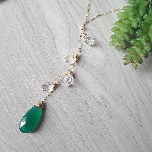 Jewel Y-Necklace