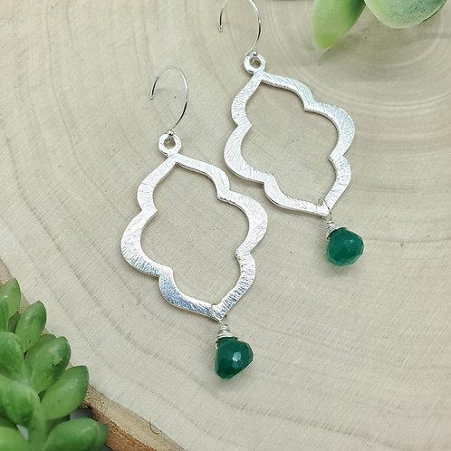 Jasmine Gemstone Earrings