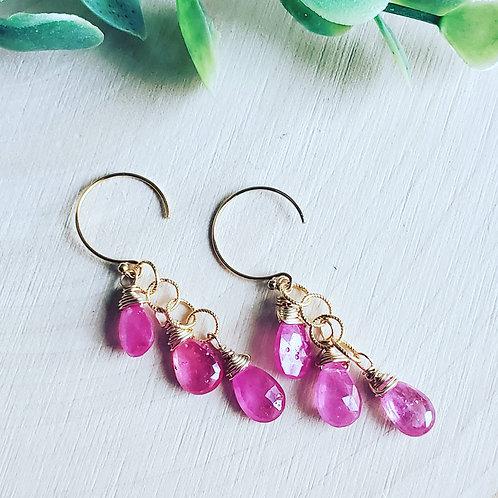 Princess Sapphire Earrings