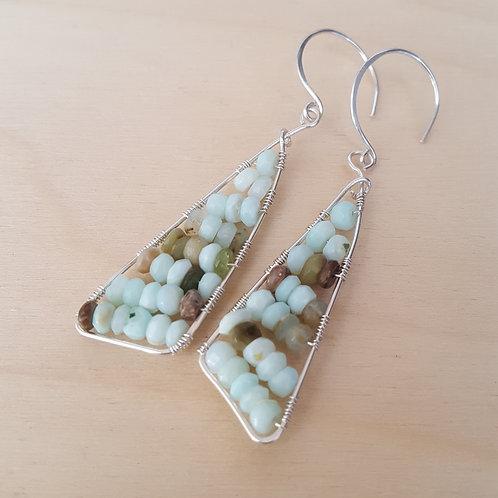 Peruvian Opal Gemstone Sails