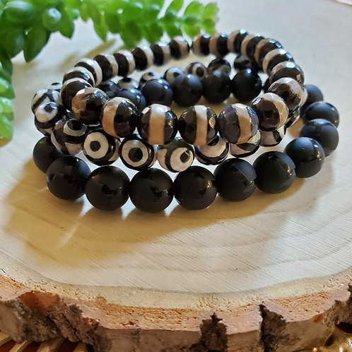 Black Agate Stack
