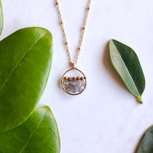 Half Full Necklace