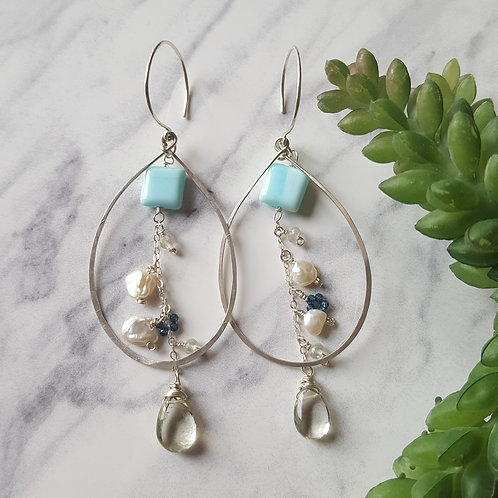 Ocean Crush Earrings
