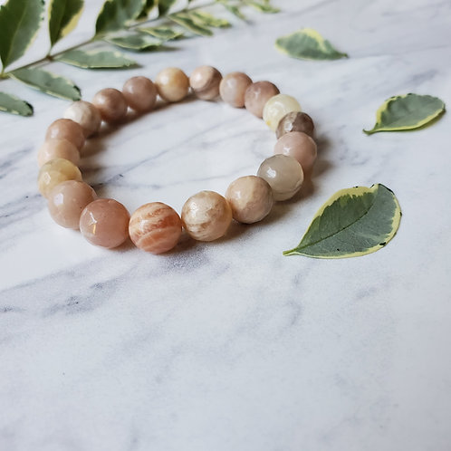 Moonstone Stacking Bracelet