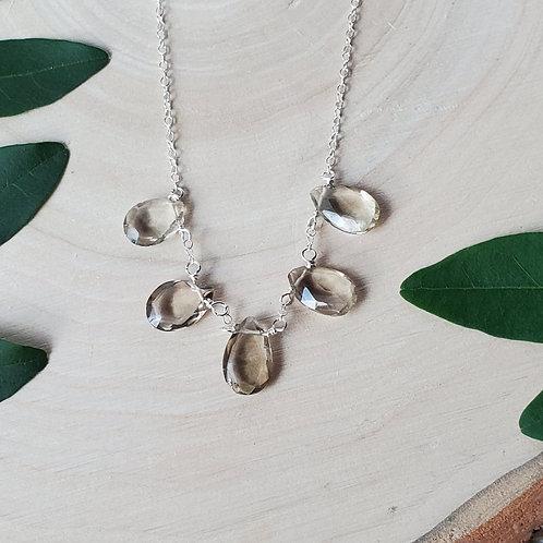 Smokey Treasure Necklace