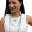 Thumbnail: Gold Frost Amazonite Necklace