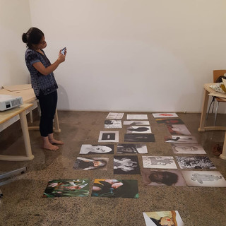 """Installation of """"In Search of Self"""" by Foundspace"""