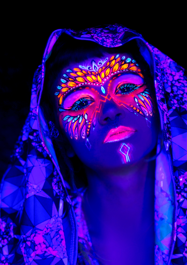 UV face painting Melbourne