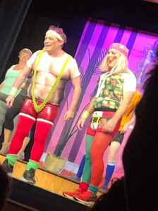We were so glad the mankini was worn on the outside