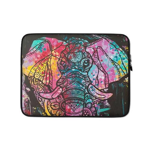 Elephant Pop Laptop Sleeve
