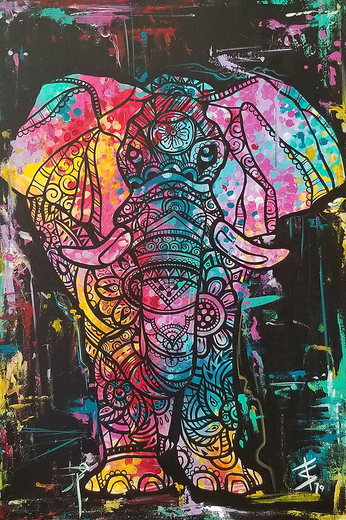 Elephant Pop Prints