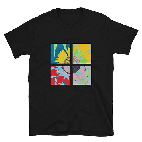 Ode to Andy: Sunflower Short-Sleeve Unisex T-Shirt