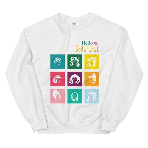 Hello Beautiful Unisex Sweatshirt