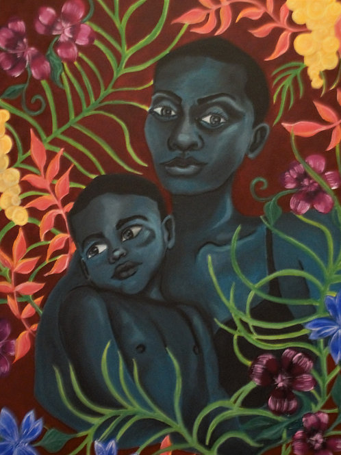 Mother and Child: Ebony