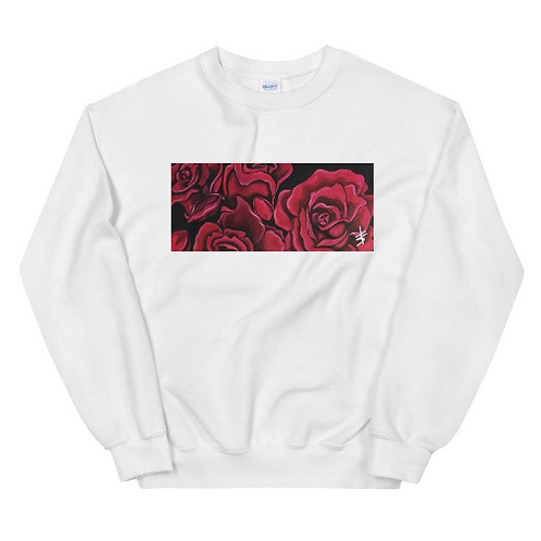 Roses House of Ink Rectangle Unisex Sweatshirt
