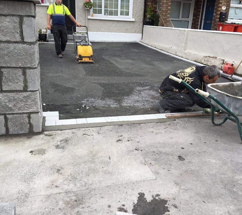 driveway gravel installation dublin