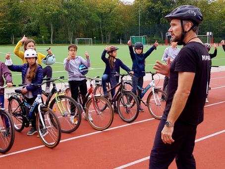 Räder für Kinder- Dankeschön an den Berliner Radsport Verband