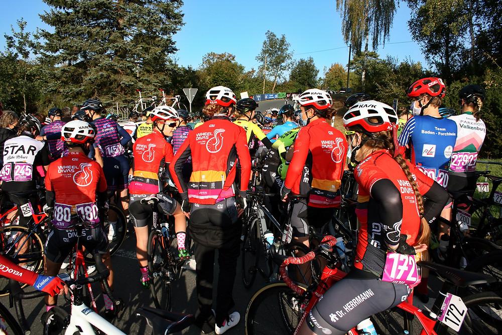 Wheel Divas beim Start Rad- Bundesliga und Deutsche Berg-Meisterschaft