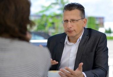 Kooptierte Mitglied des Vorstandes Präsident Stefan Meiners