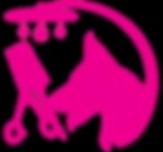 Doggie-Hair-Dooz-Vector-Image-Logo-pink_