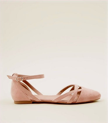 New Look Ankle Strap Ballet Women's Shoes