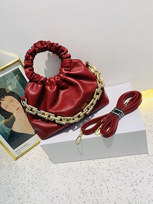 Leather Pouch Fashion Women's Handbag
