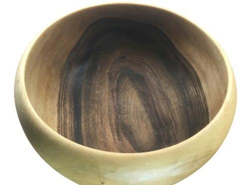 Saladier en bois de  noyer ø225mm H110