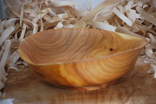 Saladier en bois de cerisier Ø250 H80 mm