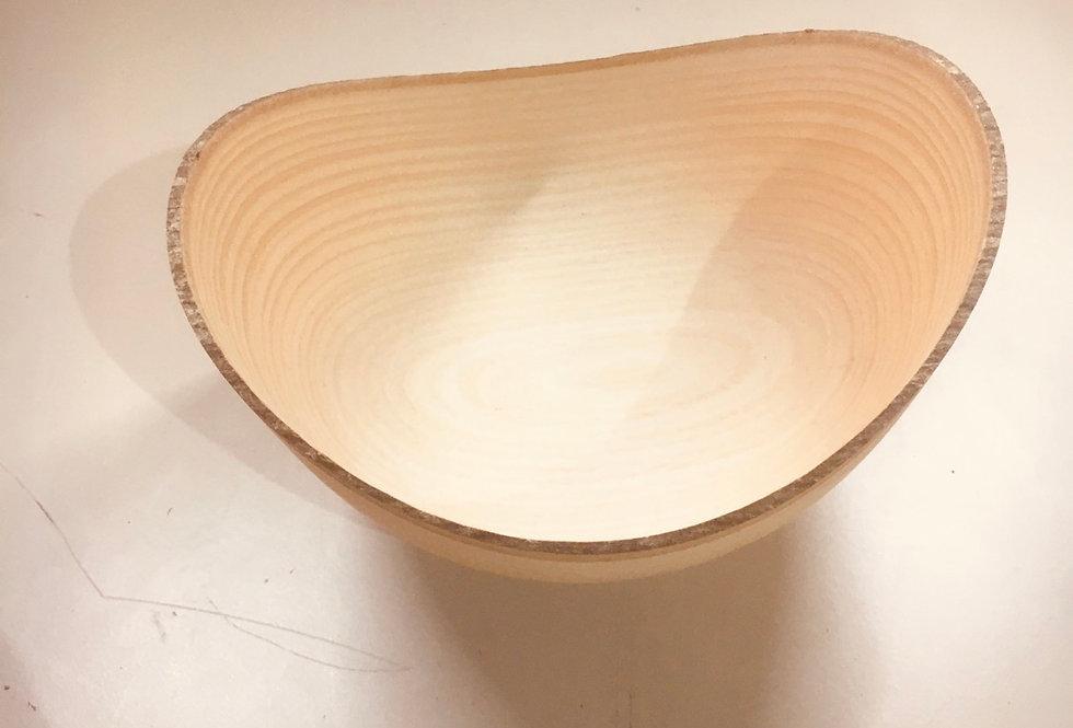 Bol à écorces en bois de Frêne ø16cm H9cm